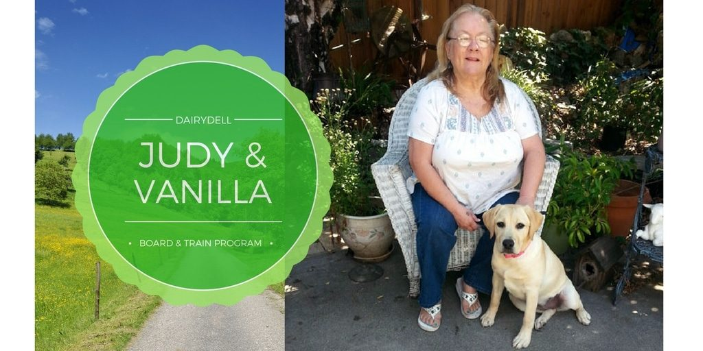 Photo of owner and dog for Dog Training Review for Dairydell Canine - Sonoma County, California